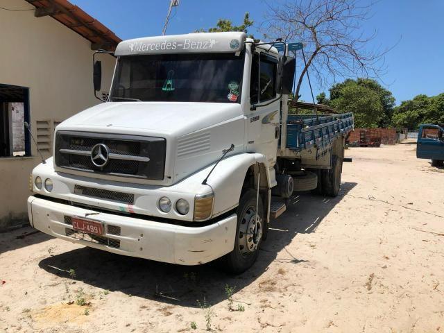 Caminhão 1620 no chassi