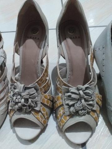 4 pares de sapato 39 - Foto 4