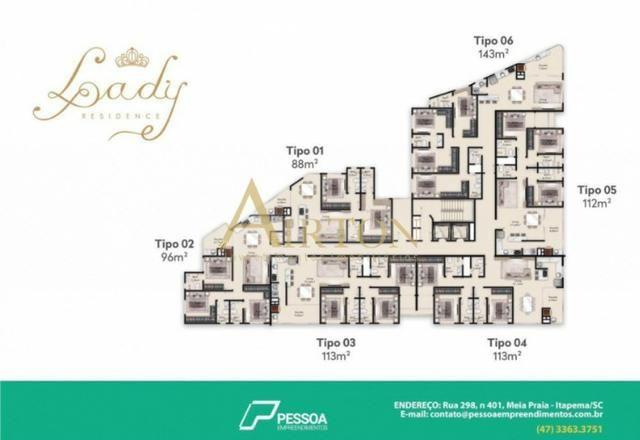 Apartamento, LA2053, 2 Suites, 2 vagas de garagem, lazer completo, com otimo valor - Foto 19