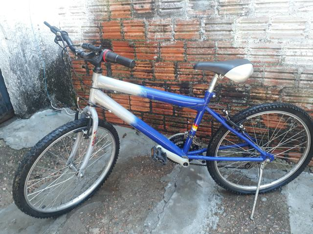 Bicicleta Cross Azul