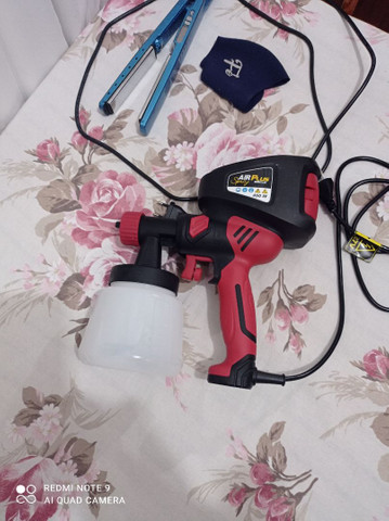 Pistola de pintura elétrica