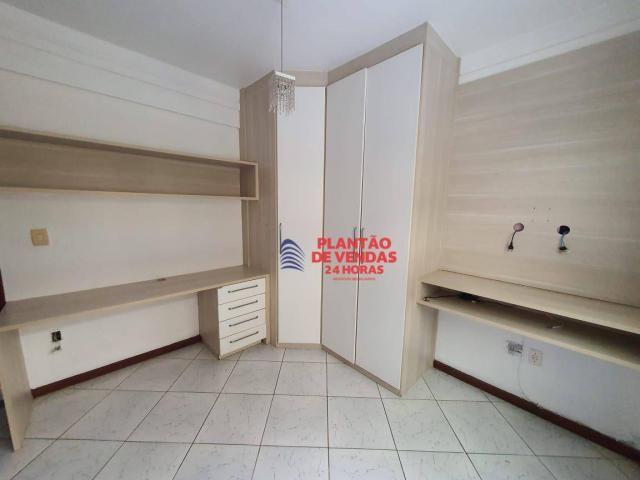 Apartamento térreo com área privativa, piscina e churrasqueira 3 quartos - Foto 15
