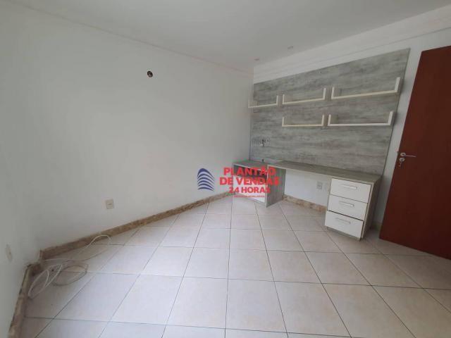 Apartamento térreo com área privativa, piscina e churrasqueira 3 quartos - Foto 17