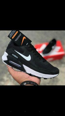 Sucesso de vendas. Air Max 90 da Nike. Estouro total 1 por 90.00rs 2 por 170.00rs - Foto 2