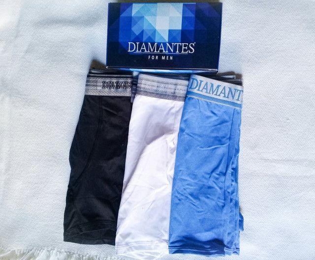 Cuecas Diamantes for Men GG - Foto 2