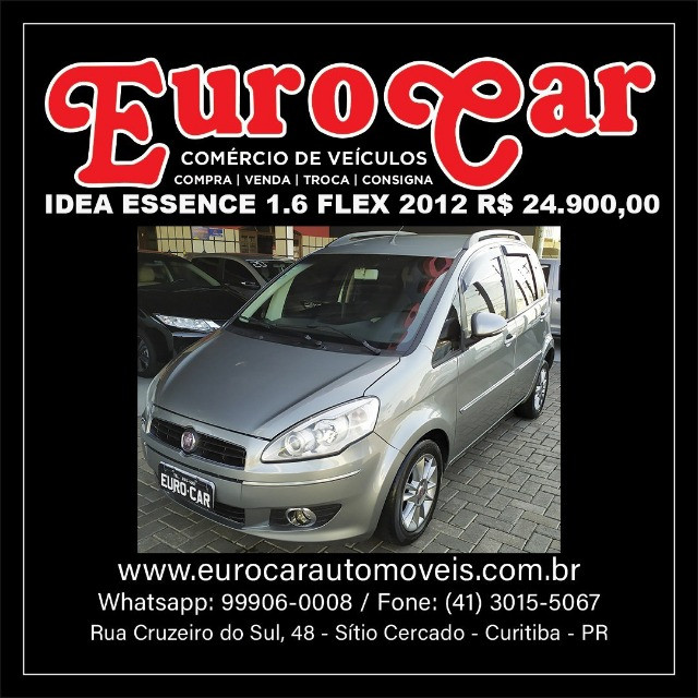Fiat Idea Essence 1.6 Flex 2012 Completa ( ecosport doblo tucson fox duster ) - Foto 12