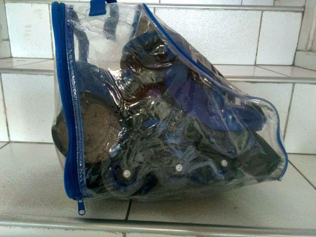Vendo ou troco rollers in line - Foto 2