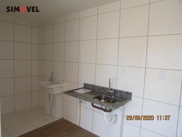 Apartamento com 1 dormitório para alugar, 32 m² por R$ 700/mês - Ceilândia Norte - Ceilând - Foto 4
