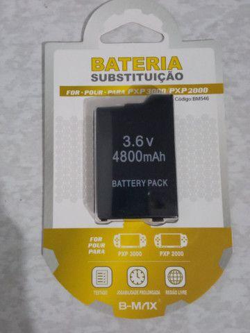 Bateria de PSP nova lacrada
