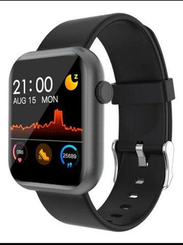Relógio inteligente smartwatch colmi p8 - Foto 3