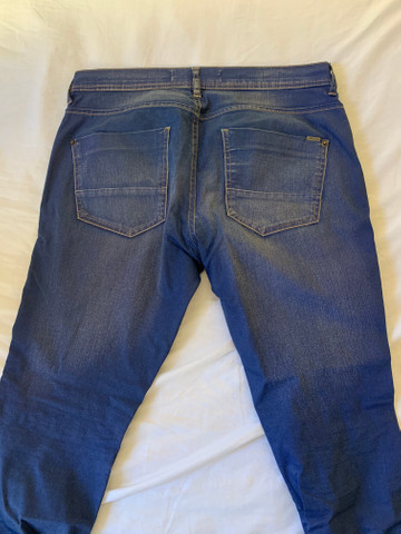 Calça Skinny azul 42 - Foto 3