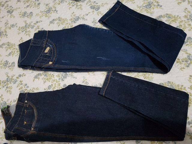 *Desapego* calças de marca n 38 - Foto 5