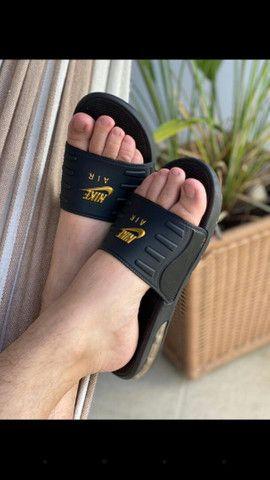 Chinelos Conforts da Nike, com amortecedores 60.00rs 2 por 110.00rs - Foto 5