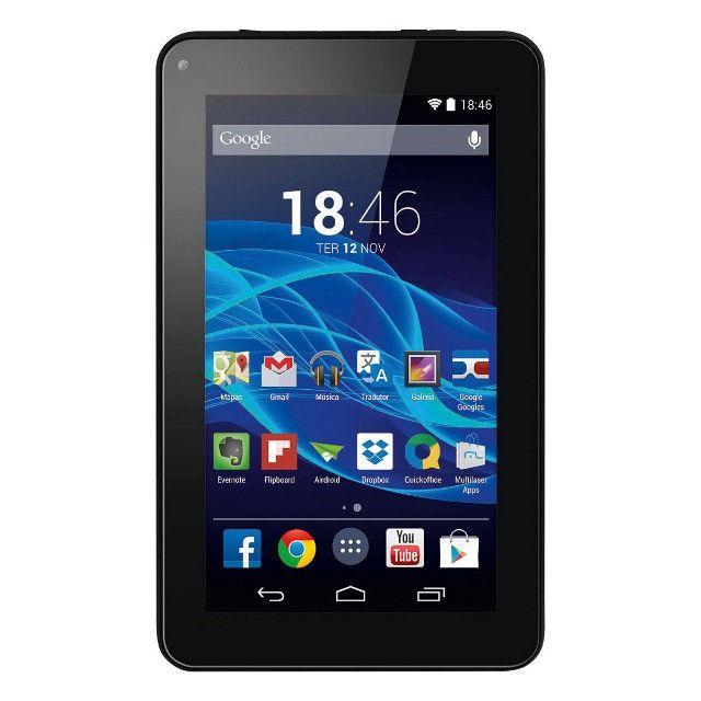 Tablet Multilaser M7s Plus 16gb 1gb Quad Core 3G com Chip Wi-Fi Android 8.1 Versão Global - Foto 2