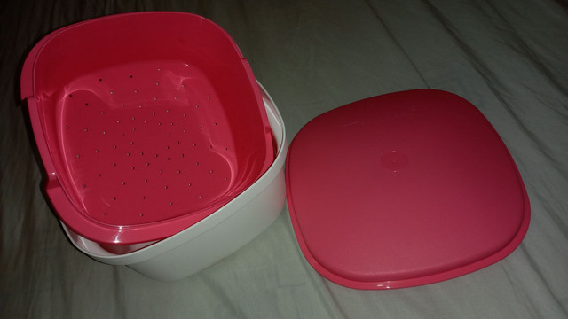 Tupperware multipla pink nunca usada/nova - Foto 3