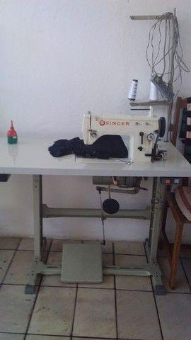 Maquina de costura singer industrial zig zag  - Foto 2