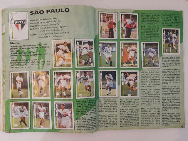Album de figurinhas [quase] completo campeonato Brasileiro 1994 - Foto 6