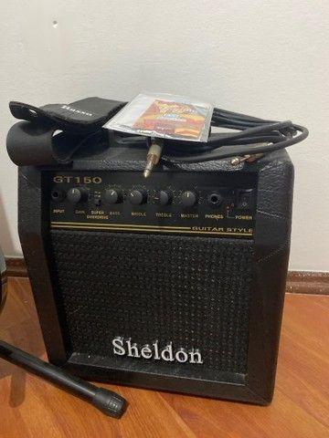 Kit Guitarra Stratotocaster Tagima Woodstock TG530 + Amplificador Sheldon - Foto 2