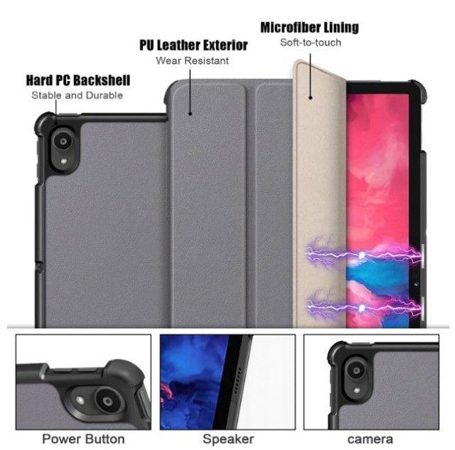 Tpu Stand Case Para Lenovo Tab P11 Pro Tb-j706 Smart Cover - Foto 6