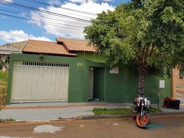 Casa com 3 dormitórios à venda, 130 m² por R$ 360.000 - Jardim Pacaembu 2 - Londrina/PR