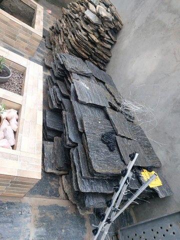Vendo Pedras Almofadadas Novas/Usadas, como você pode ver nas fotos. - Foto 4