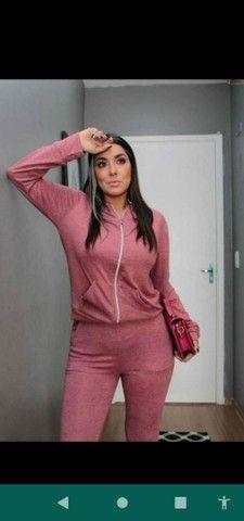 Conjunto calça e blusa  - Foto 2