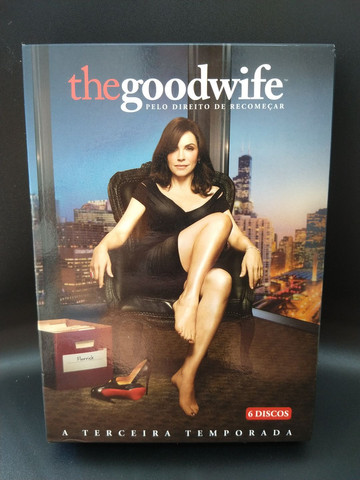 DVDs - Série The good wife - temporadas 1, 2 e 3 - Foto 3