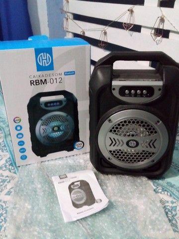 Caixa de Som Bluetooth  - Foto 3