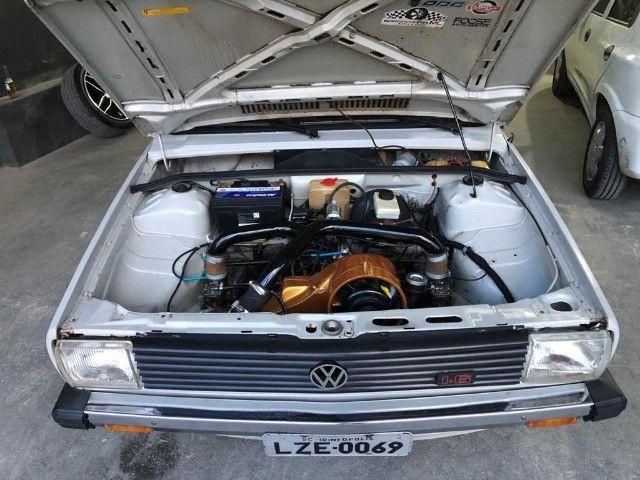 Vendo Gol BX 1985 Dupla carburação turbo - Foto 16