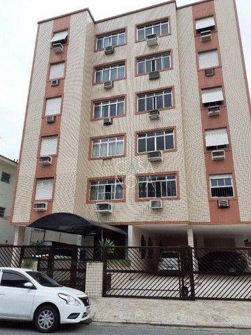Apartamento com 2 dormitórios à venda, 90 m² por R$ 430.000,00 - Embaré - Santos/SP