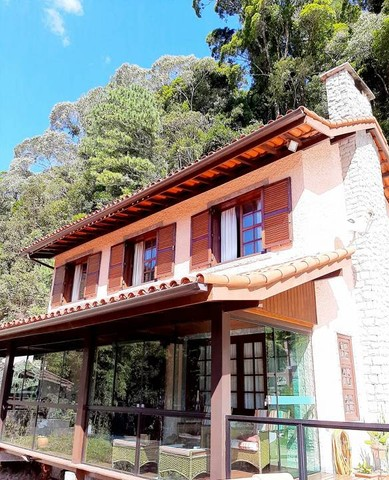 Bela casa de condomínio privilegiado para venda em local valorizado ,Comary , Teresópolis. - Foto 13