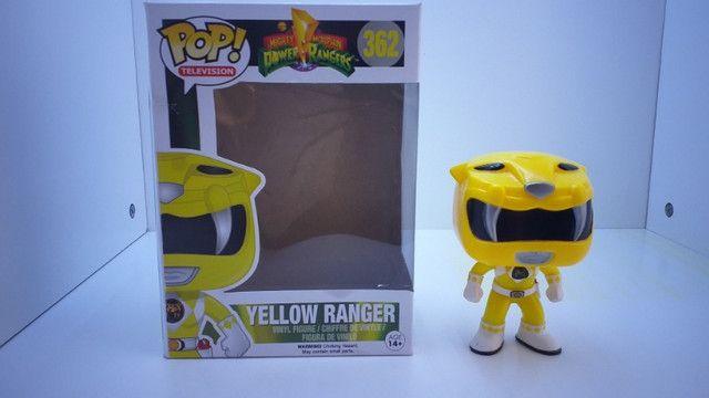 Funko POP 362 Yellow Ranger ( Power Ranger ) - Epic Toys Brasil - Foto 2