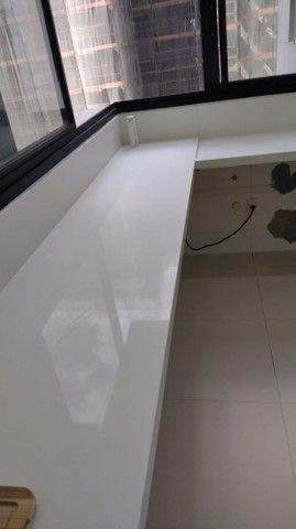 Nichos , bancadas , lavatórios , escada em mármore e granito. - Foto 4