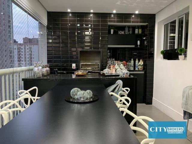 Apartamento com 3 dormitórios à venda, 107 m² por R$ 1.080.000 - Tatuapé - São Paulo/SP - Foto 4