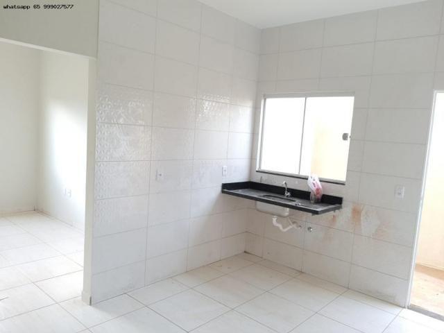 Casa para Venda em Várzea Grande, Jardim Eldorado, 2 dormitórios, 1 banheiro, 2 vagas - Foto 6