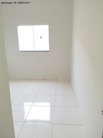 Casa para Venda em Várzea Grande, Jardim Eldorado, 2 dormitórios, 1 banheiro, 2 vagas - Foto 5