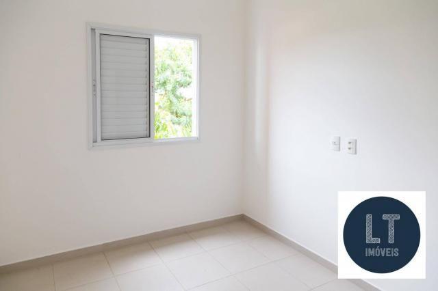 Apartamento com 2 dormitórios à venda, 64 m² por R$ 195.000,00 - Parque São Luís - Taubaté - Foto 14