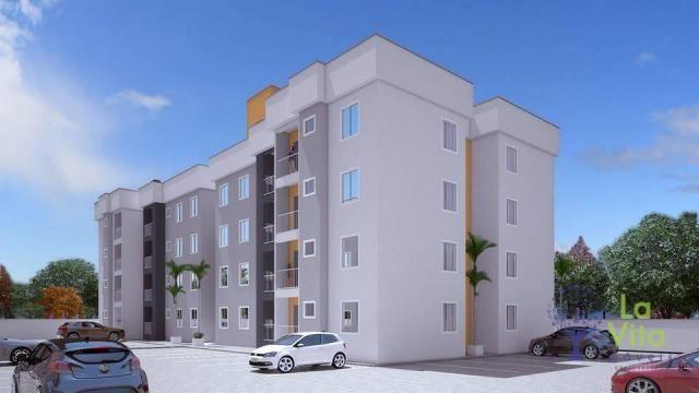 Apartamento com 2 dormitórios à venda, 52 m² por R$ 248.328,00 - Itacolomi - Balneário Piç