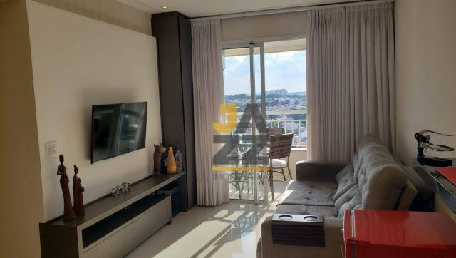 Lindo apartamento com 2 dormitórios e closet à venda, 73 m² por R$ 450.000 - Vila Brasil - - Foto 3