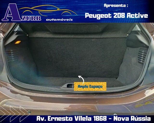 PEUGEOT 208 ACTIV COMPLETO 1.5 FLEX REVISADO GARANTIA BAIXA KM IMPECÁVEL   - Foto 15