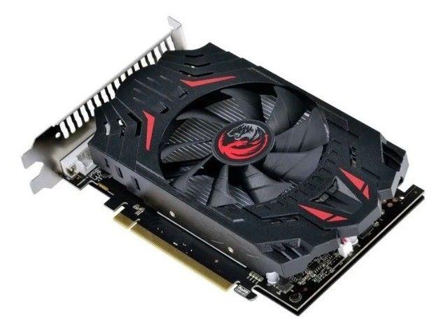 Placa de Vídeo Pcyes AMD Radeon RX 550, 4GB Gddr5 128 Bits - Loja Natan Abreu  - Foto 4