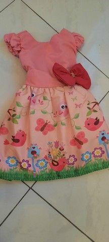 Lote de roupa infantil feminina - Foto 6