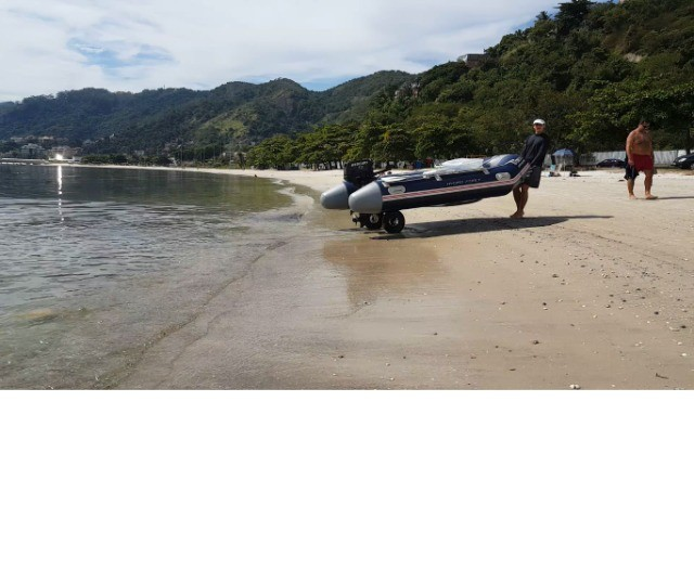 Rodinha para bote inflável , Rodas dobráveis para bote - Foto 2
