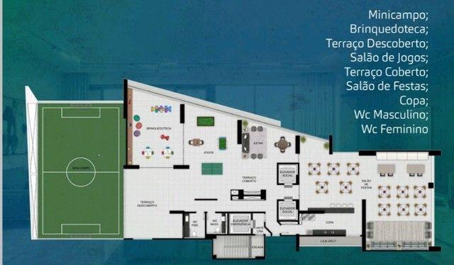 Apartamento 4 quartos 02 suítes em boa viagem - alto padrão - fase final de construção - Foto 5