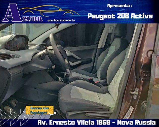 PEUGEOT 208 ACTIV COMPLETO 1.5 FLEX REVISADO GARANTIA BAIXA KM IMPECÁVEL   - Foto 8