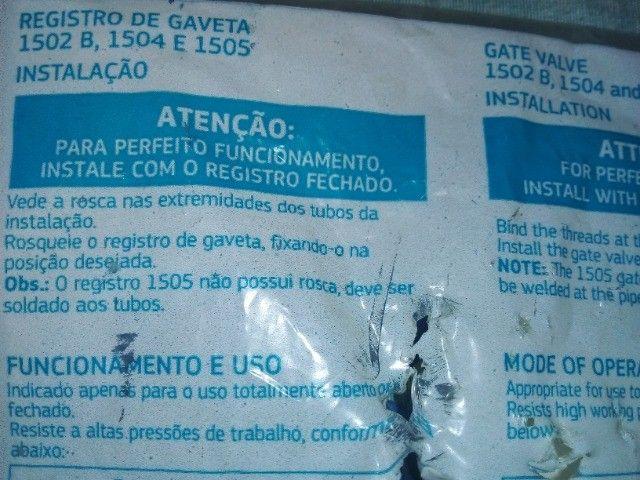 Registro de Gaveta (Deca - de Grife) - Novo na Embalagem - por 70 Reais - Foto 5