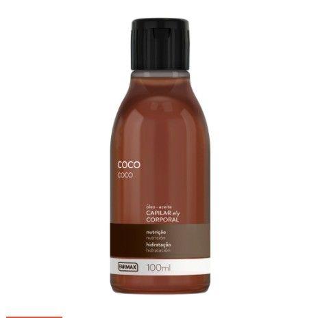Óleo Corporal Capilar Farmax Coco Nutrientes 100ml