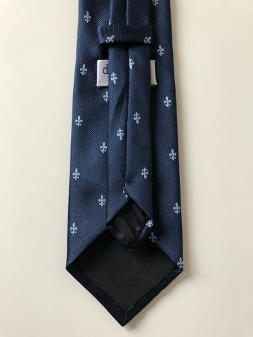 Gravata - Cor Azul Marinho (Produto Novo) - Foto 3