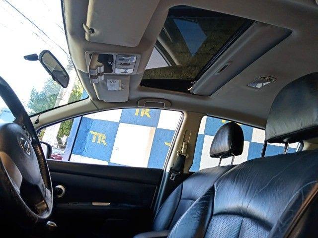 Nissan Tida 1.8 SL Manual + Couro + Teto  ( Veiculo Impecável ) - Foto 5