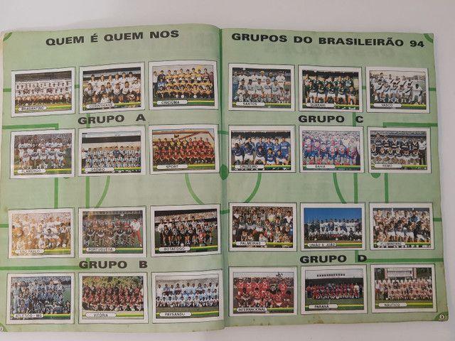 Album de figurinhas [quase] completo campeonato Brasileiro 1994 - Foto 2